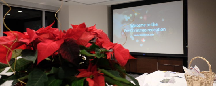 Pre-Christmas Reception and Fundraising Event 2019